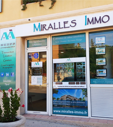 Agence immobilière le beausset - Miralles Immo
