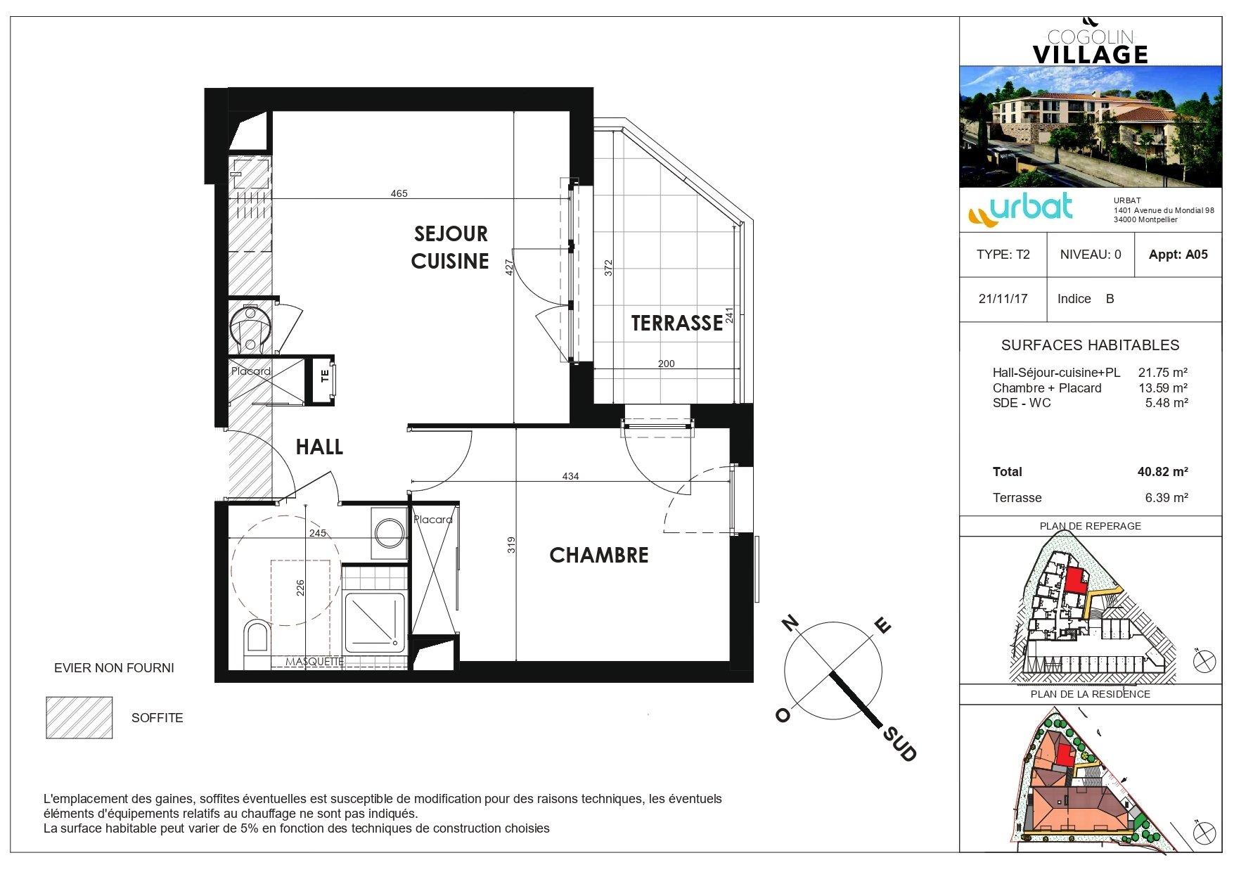 Appartement - Cogolin